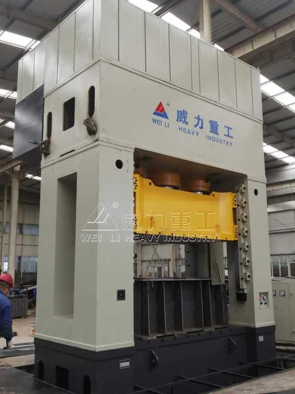 3000吨框架式斗齿锻造成型压力机