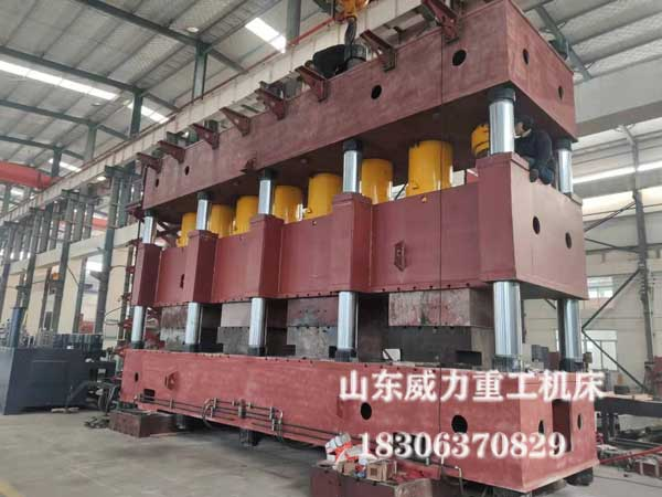 4000吨四柱式汽车纵梁成型